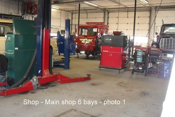 1.Shop Center 6 bays