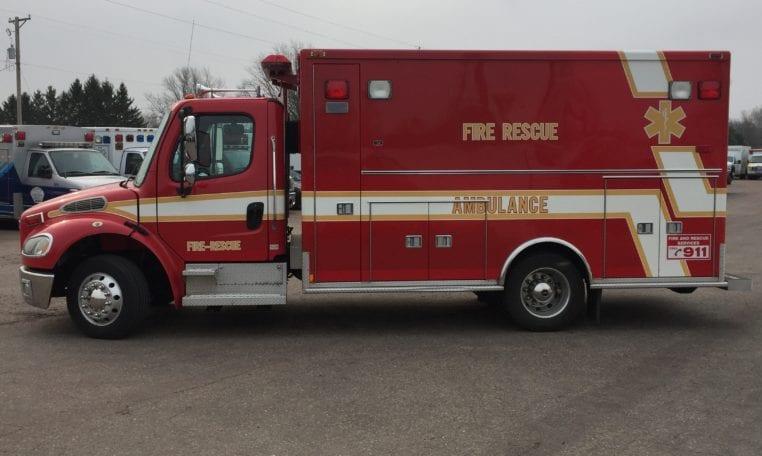 2004 Freightliner M2 Medtec 170 Used Ambulance for Sale - North