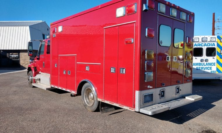 2007 Medtec 170MD International 4300 LP Used Ambulance for